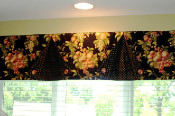 button back valance
