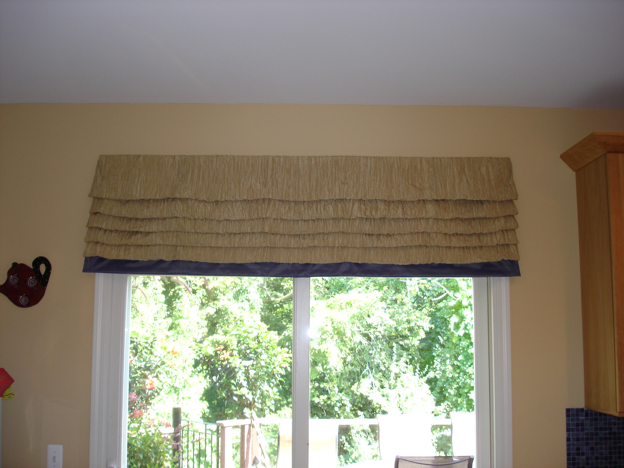 roman shades neutral designs as these color choice perfect they splash up valance gorgeous beautiful this of with kitchen for the are shade plum ikat palette nook but liven photo a