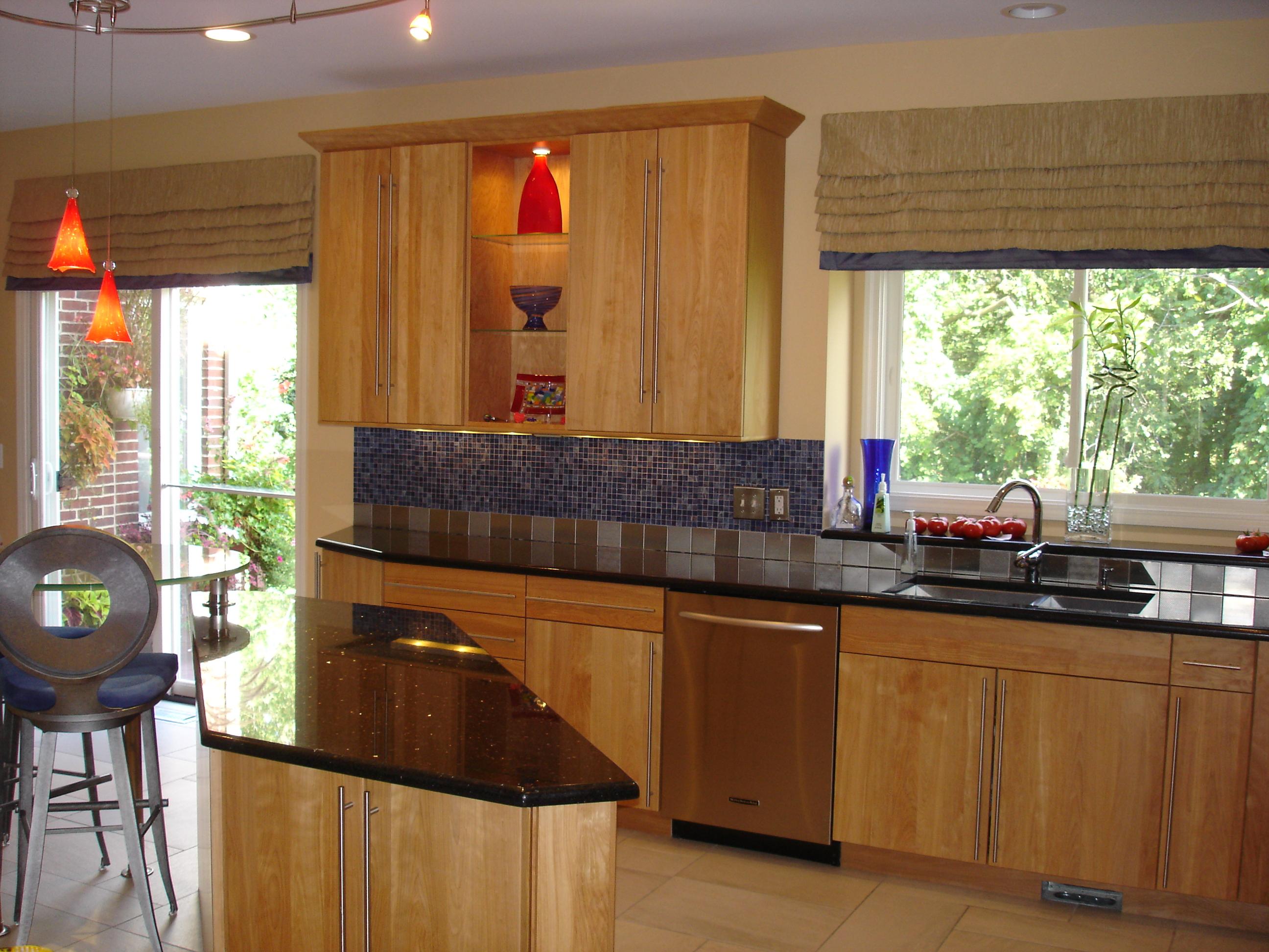 A contemporary kitchen susan 39 s designs - Modern kitchen valances ...