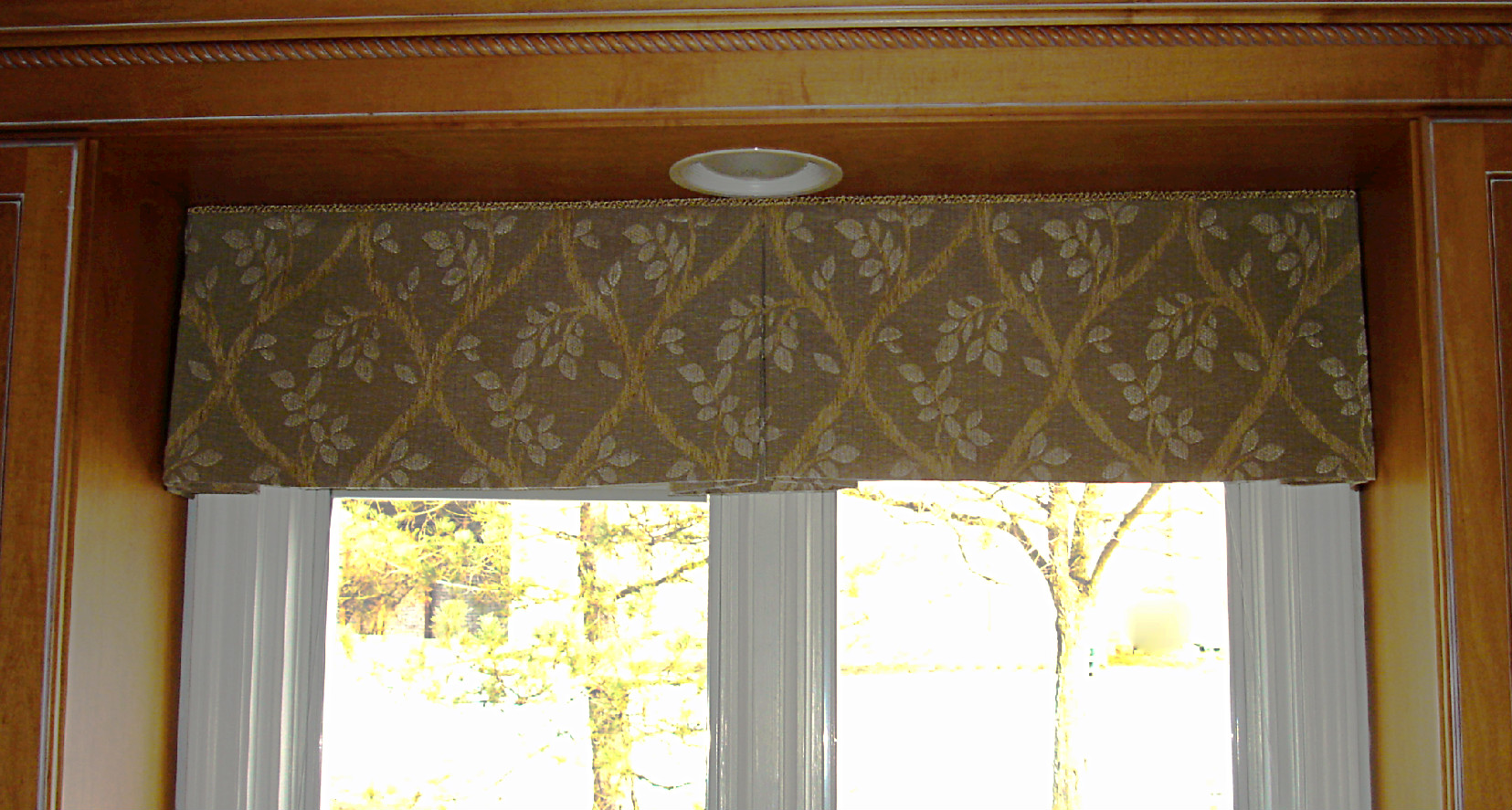 Pleated valance patterns for Window valance