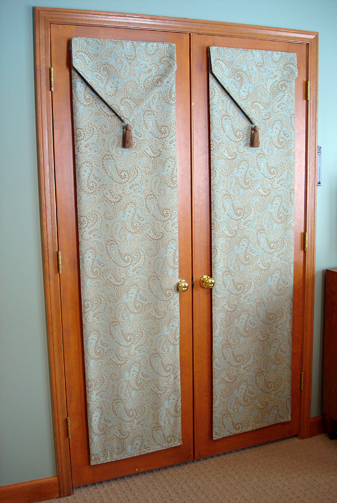 french door privacy & French door privacy. » Susan\u0027s Designs