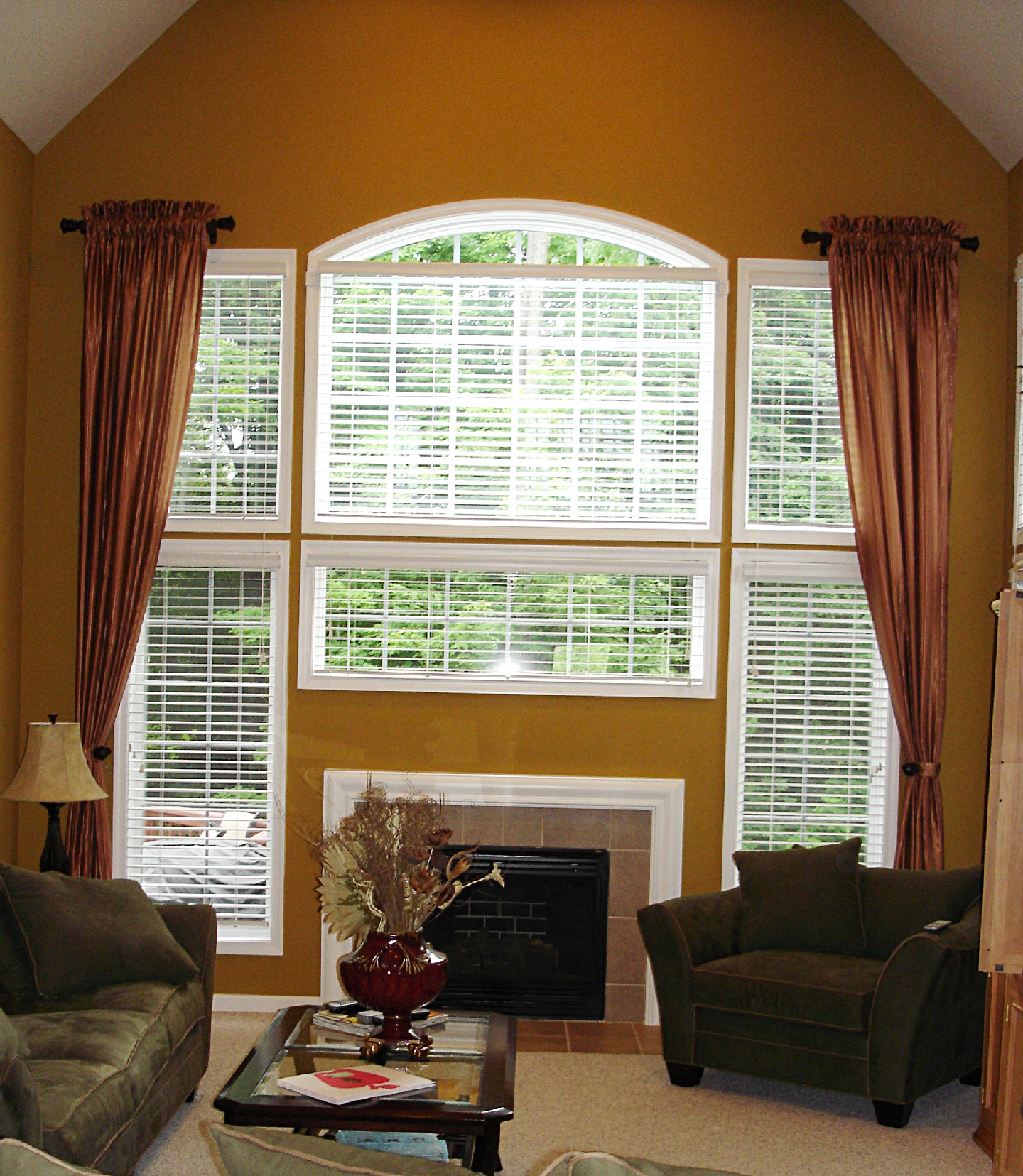 Susan 39 s designs drapery home decorating page 63 High ceiling window treatments
