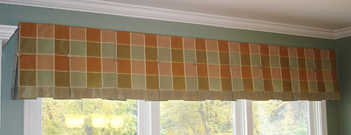 Inverted Box Pleated Valance 187 Susan S Designs