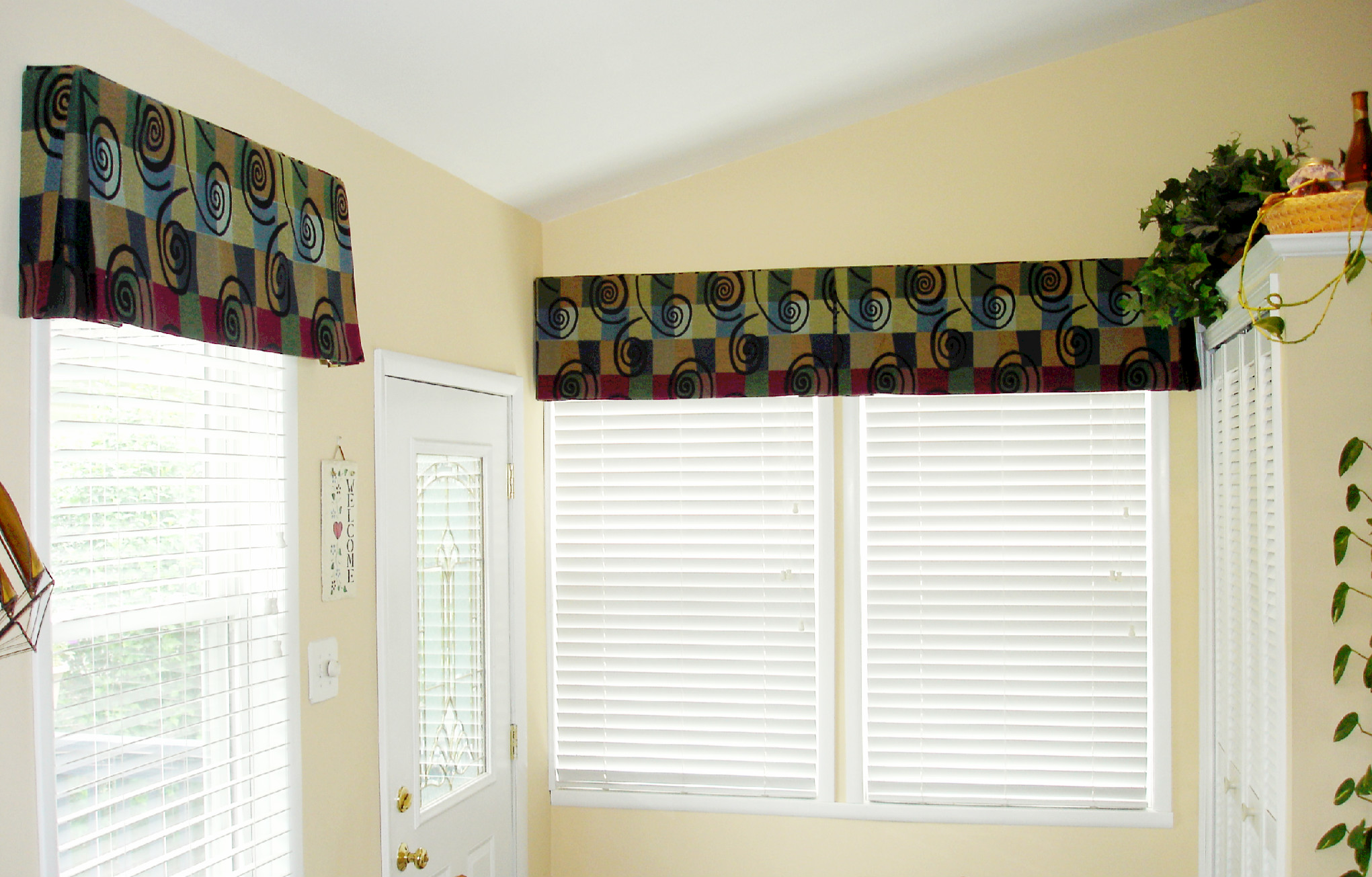 Box Pleat Window Valance Pattern Box Pleated Valance