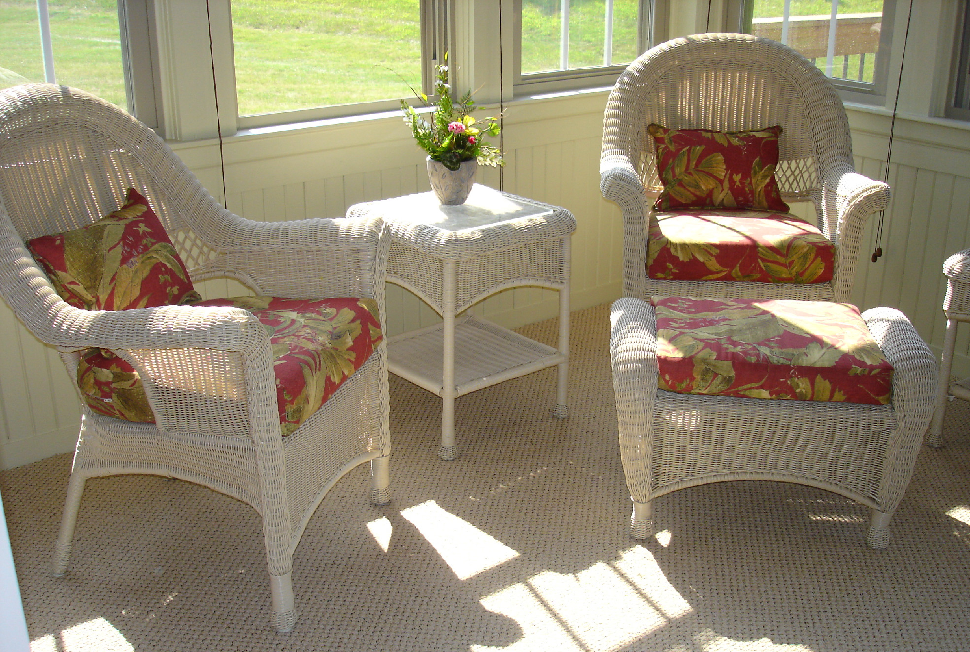 Update Your Wicker Furniture 187 Susan S Designs