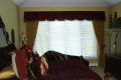 sheffield valance with side panels