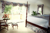 vintage bedroom, Zuzie Q, a Susan's Drapery Design