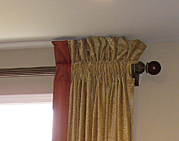 Rod Pocket Curtains Rod Pocket Grommet Top Tab Top Double Pleated Pencil Pleated Curtain