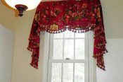 sheffield valance with tails