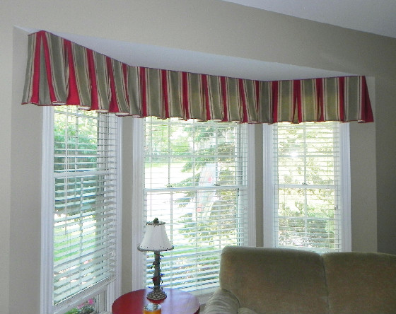 Box Pleat Window Valance Pattern Box Pleated Bell Valance