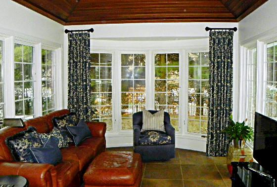 Bay Window Curtain Rings