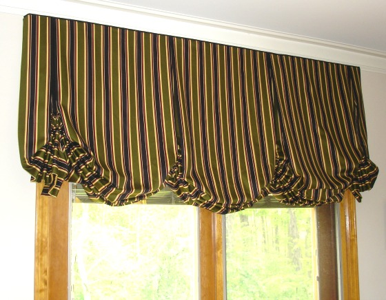how to make a pleated balloon valance
