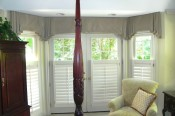pleated valance