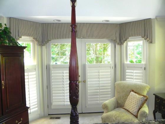 Large Window Curtain Valance Ideas