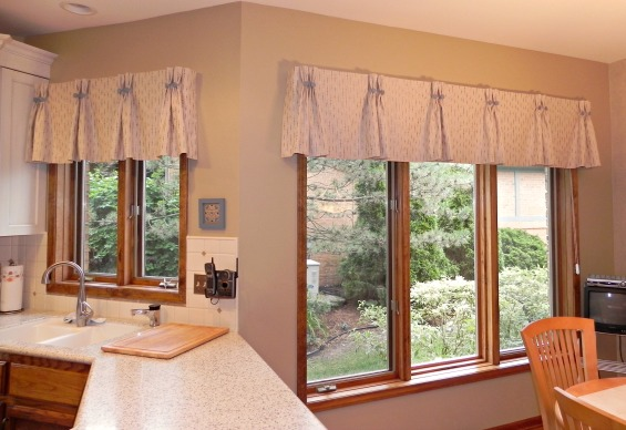 double pinch pleated valance